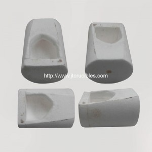 1oz Centrifugal dental casting silica crucibles
