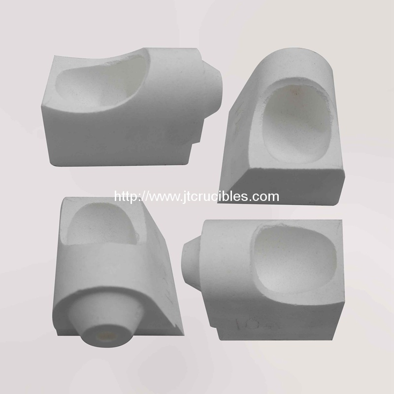 10oz Centrifugal casting crucible quartz crucibles for alloy casting
