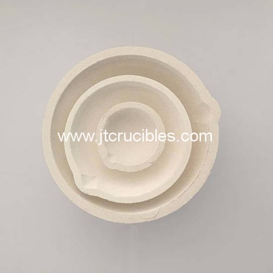 Fused silica Casting dishes jewelry casting crucibles