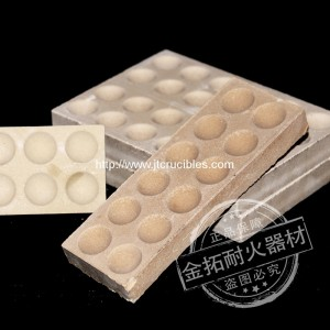 factory wholesale high quality magneisa Bullion Block