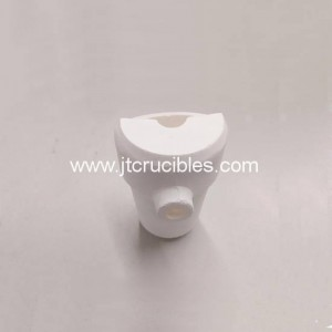 Fused silica centrifugal casting crucible Dental casting crucibles