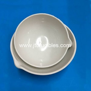 laboratory use liquid Evaporating dishes ceramic evaporation pan