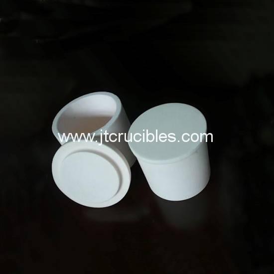 High temperature resistance refractory Zirconia crucible