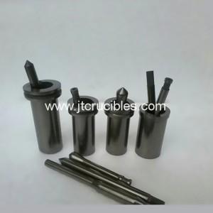 pièces en graphite de haute Purify graphite moule graphite die