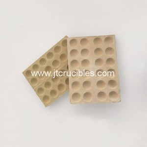 Fire assay Bullion Block,magnesia cupels