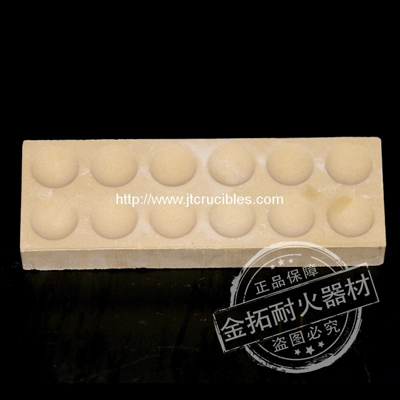 High quality 12/24 hole magnesia cupels for sale