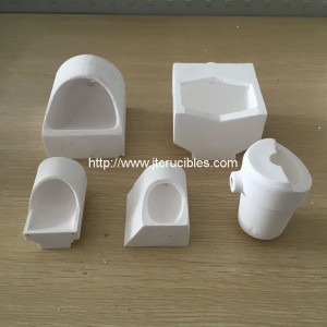 High quality fused quartz crucibles for dental casting