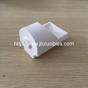 high fused silica dental casting crucibles for Dental alloy smelting
