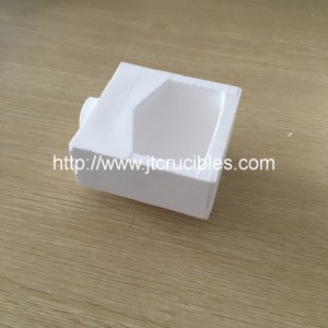 10oz Dental alloy casting quartz crucibles