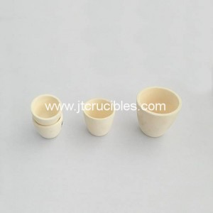 high quality 99.5% Al2O3 ceramic crucibles laborotory alumina Crucibles