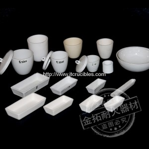 laboratory use  Ceramic crucible