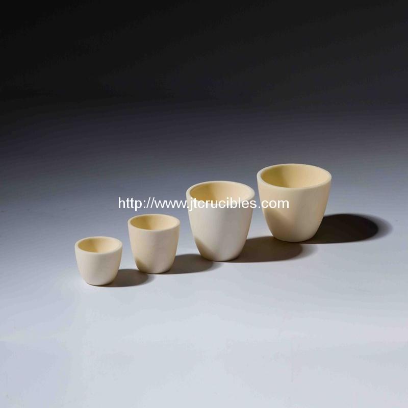 high refractory alumina ceramic crucibles for laboratory test