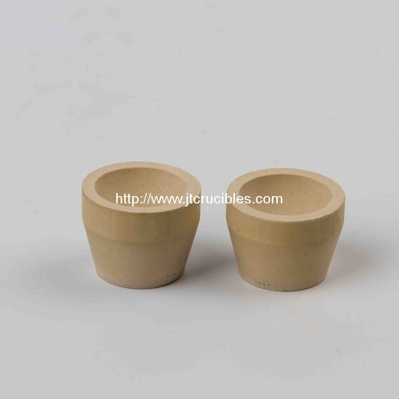 China manufacturer supply magnesia cupel bone ash cupels for cupellation