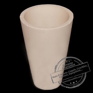 China Manufacturer of Alumina Ceramic Crucible for Gold Melting
