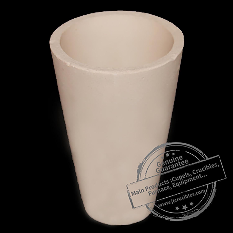 China Manufacturer of Alumina Ceramic Crucible for Gold Melting