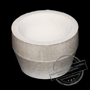 Refractory Fire Assay Cement Cupel Crucible7a/8A Stock
