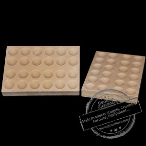 Factory Supplier Bone Ash Ceramic Cupel for Furnace