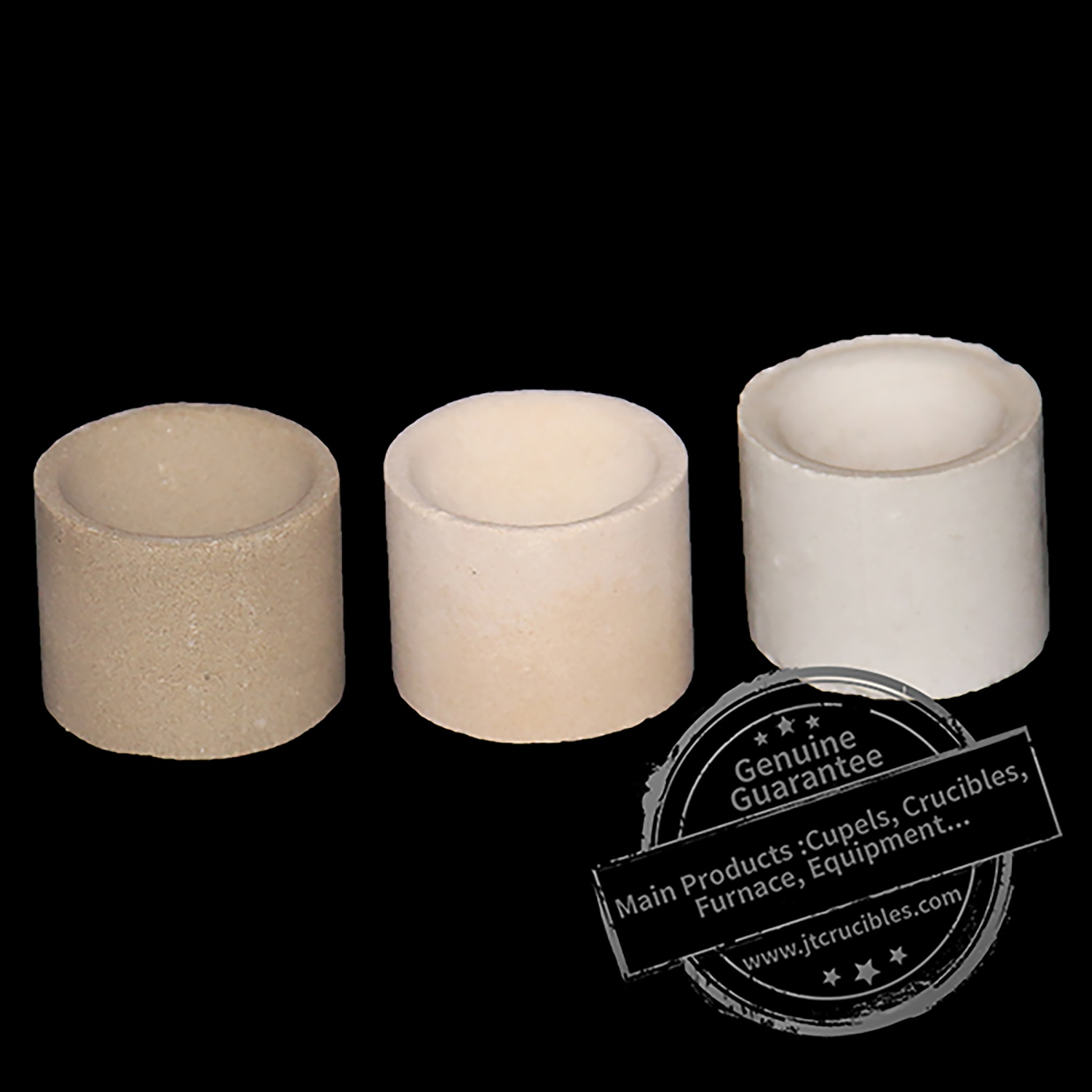 Refractory Material Good Quality Clay Cupel for Mining Industry