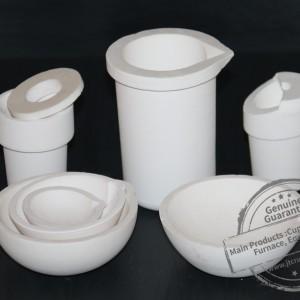 Fused silica casting crucibles
