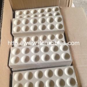 magnésie plomb bloc de lingots d'absorption, des blocs de Coupelle magnésie