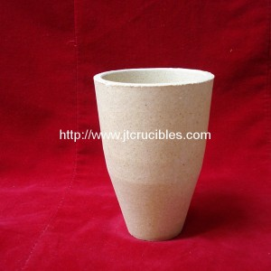 300ml fire assay clay crucibles for laboratory
