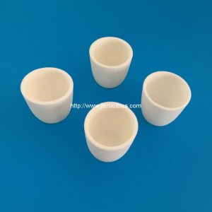 high temperature resistant alumina ceramic crucibles for laboratory