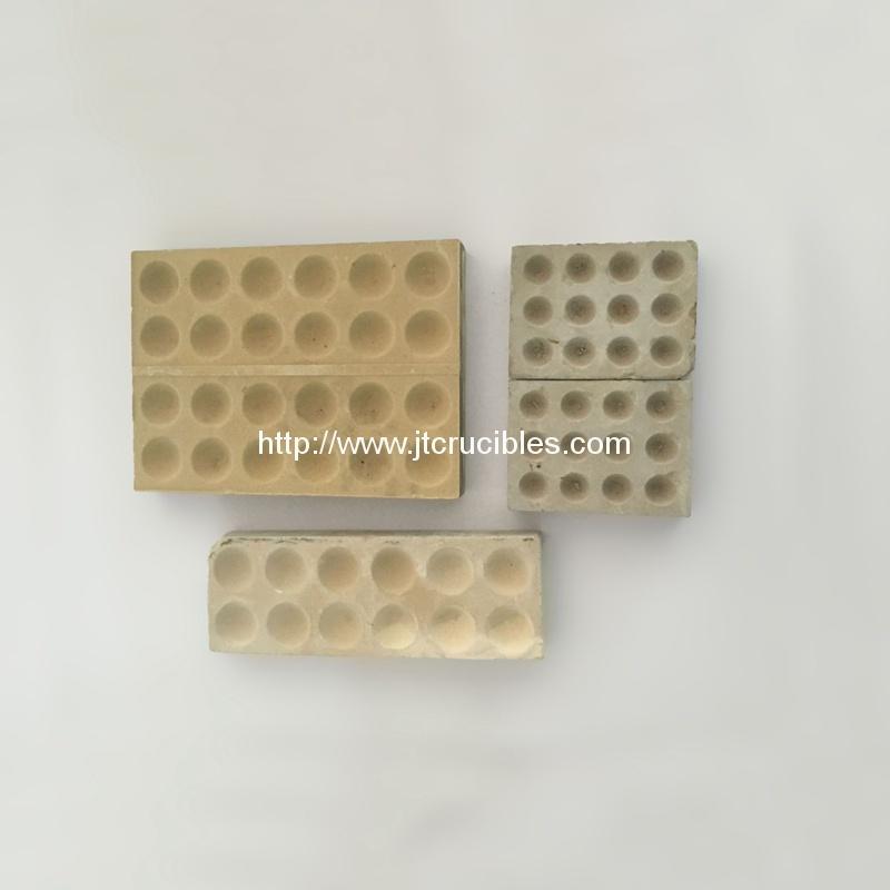magneisa Bullion Block 12/24 hole cupels