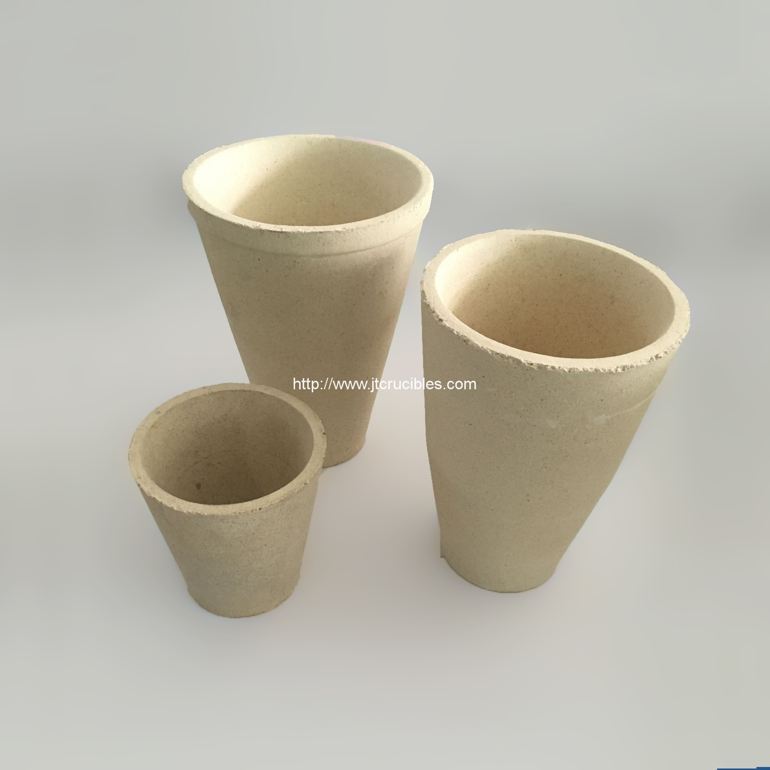 Factory wholesale fire assay cruibles,clay crucibles for mineral test