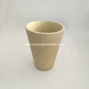 50 gram refractory fire assay crucibles