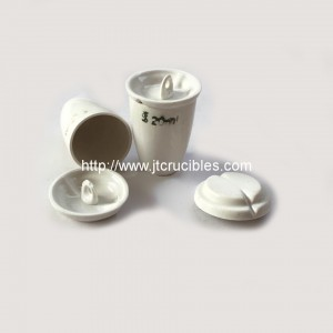 High quality laboratory porcelain crucibles