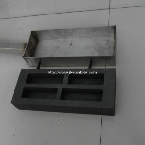high pure precious metal graphite ingot mould for melting gold